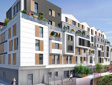 Achat appartement neuf bois colombes immobilier neuf for Achat du neuf