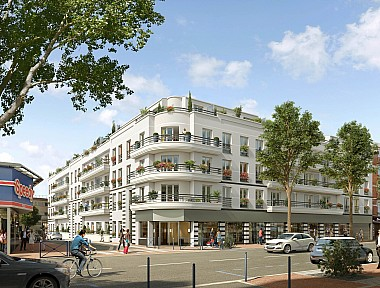 Achat appartement neuf drancy immobilier neuf drancy for Achat du neuf