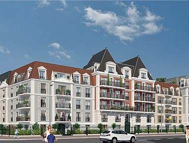 Achat appartement neuf le blanc mesnil immobilier neuf for Achat du neuf