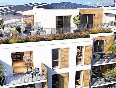 Achat appartement neuf gentilly immobilier neuf gentilly for Achat du neuf